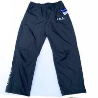 HUK PERFORMANCE MEN Packable Rain Pants Black Fishing Boating Large 99$