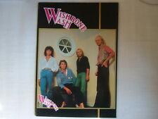 WISHBONE ASH 1978 TOUR PROGRAM
