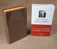 LA PLEIADE : ANDRE MALRAUX / OEUVRES COMPLETES 3 - 1996