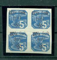 Sudetenland, Reichenbach, Nr. 56 viererblock postfrisch **