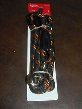 "MASTER PAW - 6' X 1/2"" BRAIDED DOG LEASH - COLOR - BLACK (RM-2) FREE SHIPPING"