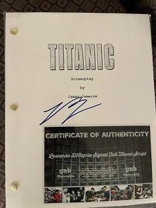 Full Titanic Script Signed Autographed Leonardo DiCaprio