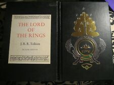 1984 EDITION  / THE LORD OF THE RINGS J.R.R.TOLKIEN DE LUXE EDITION BOOK
