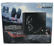 Sony PS4 Darth Vader Edition Console Star Wars Battlefront Deluxe Battlefield 1