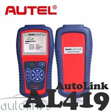 AUTEL AL419 OBD2 Car Engine Fault Diagnostic Scanner Auto Code Reader Scan Tool