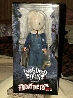 """LDD Presents Friday the 13th Part II Jason Voorhees Collectible 10"""" Deluxe Doll"""