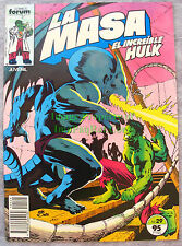 La Masa El Increible Hulk #29 Spanish Incredible Hulk #292  Excellent Copy!