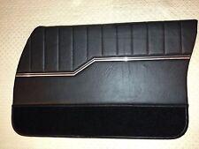HQ GTS MONARO PREMIER STYLE DOOR TRIMS BLACK FOR UTE OR PANELVAN EXCHANGE TOPS