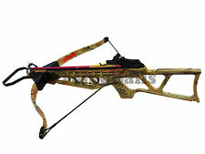 180Lb AC CAMO Crossbow Folding Rifle W/ 2 Arrow 220 FPS *Taiwan Factory Special*