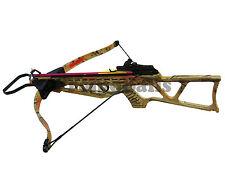 180Lb AC CAMO Crossbow Folding Rifle W/ 2 Arrow 220 FPS *Taiwan Factory Special*