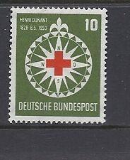 GERMANY 1953 RED CROSS Sc 696 VF MNH