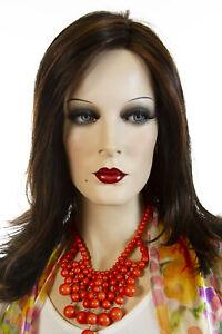Miranda Medium Lace Front Monofilament Jon Renau Wavy Blonde Red Grey Wigs