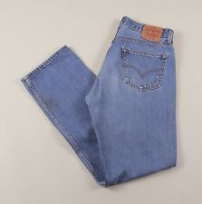 Vintage LEVI'S 501 Blue Regular Straight Fit Men's Jeans 32W 32L 32/32 /J44033