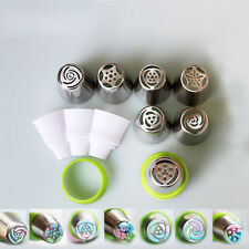 3-Color Icing Piping Bag Russian Nozzle Converter Cake Cream DIY Decorating Tool