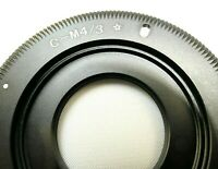 C- Mount Lens adapter to m4/3 Micro 4/3 Camera Panasonic Lumix DMC GH3 GH4 5 TV