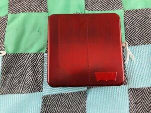 Levi's Men's Leather Rfid Blocking Credit Card ID Trifold Wallet Brown