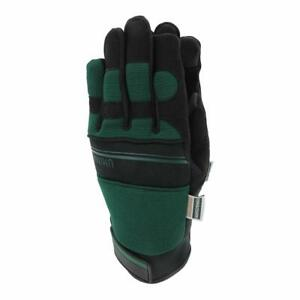 Town & Country Ultimax Gardening Gloves - GREEN - Size Extra Large