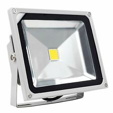 HOSL 30w LED Flood Lights IP65 Waterproof 6000K 2400LM Daylight White