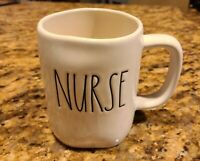 "New RAE DUNN Artisan Collection LL ""NURSE"" Mug  By Magenta"