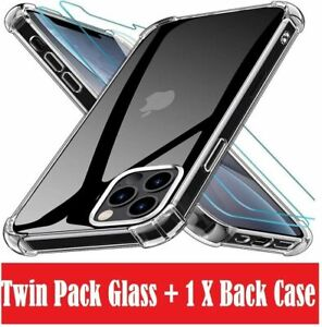 TEMPERED GLASS SCREEN PROTECTOR / Case Cover For Apple iPhone X XS MAX 6 PLUS