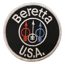 Beretta, Embroidered Tactical Morale Patch (Iron On) Usa Seller