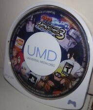 NARUTO ULTIMATE NINJA HEROES 3 Videogame For Psp (GAME ONLY) UMD