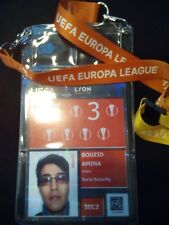 Security Pass Keyholder UEFA EL Final 2018 Olympique Marseille Atletico Madrid