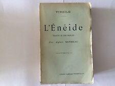 L'ENEIDE 1902 VIRGILE ALPHEE MOTHEAU
