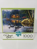 BUFFALO DARRELL BUSH ECHO BAY 1000 PIECE PUZZLE NEW SEALED IN BOX