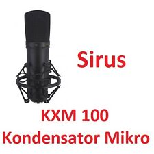 Studiomikrofon Kondensator KXM-100 professionelles Mikrofone  Niere Mikro Vocal