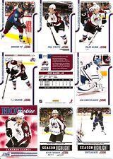 2011-12 Panini Score Colorado Avalanche Complete Team Set (18)