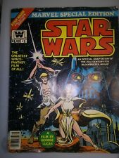 1977 Marvel Giant Special Edition Star Wars Comic Issue #1