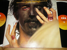 LP 33T   Frank Zappa – Joe's Garage Acts II & III -  avec insert
