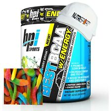 BPI Sports BCAA With Energy - 25 Servings + TRAINING CAP Sour Candy Flavour