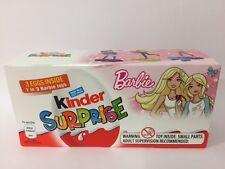 Kinder Surprise Barbie 3 Pack Eggs & Toys Girls Kids Easter 2017 Rare UK