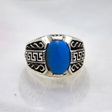 Turquoise Sterling Silver Gemstone Jewellery for Men