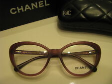 NEW AUTHENTIC CHANEL 3253H c.1414 Matte Purple Eyeglasses Collection Pearl