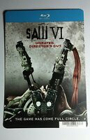 SAW VI 6 BLURAY STYLE COVER ART MINI POSTER BACKER CARD (NOT a movie)