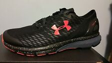 UNDER ARMOUR CHARGED BANDIT 2 NIGHT 1288274-001  MEN'S RUNNING SHOES SIZE 8