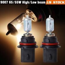 2pcs 9007 HB5 Halogen 65/55W Headlight High Low beam Bulb Stock Replace 4500K