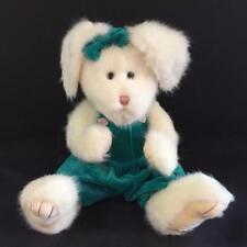 "BABETTE - Adorable Boyds 13"" White Easter Bunny Rabbit - BNWT - FREE US SHIP"