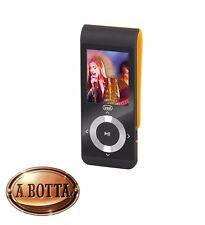 """Lettore MP3 MP4 con MicroSD 4 Gb TREVI MPV 1728 SD Arancio Display 1,8"""" Radio FM"""