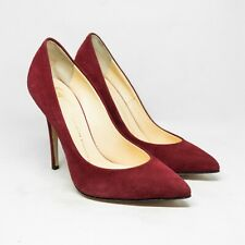 Giuseppe Zanotti Red Suede Pumps Size 36.5 / US 6.5
