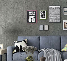 Wallpaper Grey Bedroom Living Room Cafe Wall Decoration Wall Paper 1.74ⅹ16.4ft