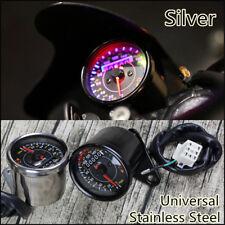12V Motorcycle Odometer Speedometer KM/H MPH Guage EFI Oil Pump Indicator Meter