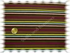 Vivito Stretch-Jersey Shirt braun Streifenjersey Hilco 50 cm