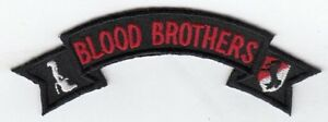 """11th ACR Blood Brothers  embroidered 4.5"""" scroll patch-LAST ONE!"""
