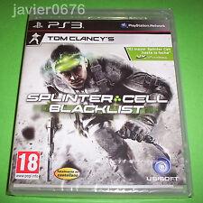 SPLINTER CELL BLACKLIST NUEVO Y PRECINTADO PAL ESPAÑA PLAYSTATION 3 PS3
