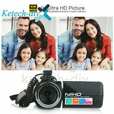 Full 1080P HD 24MP 18X ZOOM 3'' LCD Digital Video Camera Camcorder DV with Mic