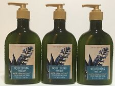 LOT 3 BATH & BODY WORKS FRESH SPARKLING SNOW NOURISHING CREAMY HAND SOAP 8 FL OZ